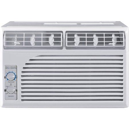 Cool Living CLW-15C1A-G09AC 5,000-BTU Window-Mounted Room Air ...