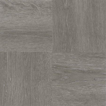 Nexus Charcoal Grey Wood 12 X Self Adhesive Vinyl Floor Tile