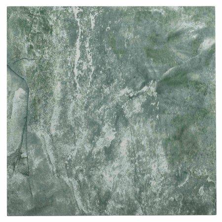 NEXUS Verde Marble Vein 12x12 Self Adhesive Vinyl Floor Tile - 20 ...