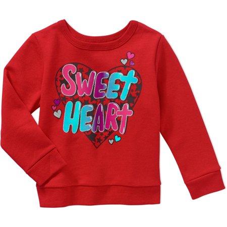 c8c5657d4b4 Garanimals Baby Toddler Girls  Graphic Fleece Top ...